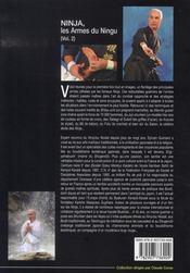 Ninja, les armes du ningu - 4ème de couverture - Format classique