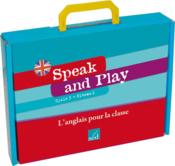 Speak And Play ; Anglais ; Cm1 ; Cycle 3, Niveau 2 ; Fichier Ressources, 96 Flashcards, 12 Posters, 42 Wordcards ; Jeu De Cartes  - Jm Furgerot - F Perez - F Houillier - A-M Voise