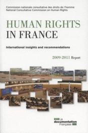 Vente livre :  Human rights in France 2011  - Collectif