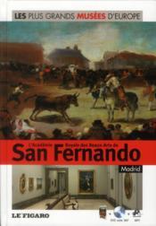 L'Académie Royale des Beaux-arts de San Fernando ; Madrid - Couverture - Format classique