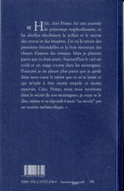 Pour Primo Levi - 4ème de couverture - Format classique