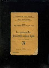 Histoire De La Formation Du Sous Sol De La France. 1: Les Anciennes Mers De La France Et Leurs Depots. - Couverture - Format classique