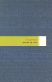 Vente  Journal de bord  - Marc Villard