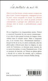Tolstoï - 4ème de couverture - Format classique