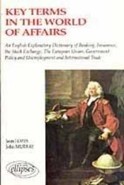 Key Terms In The World Of Affairs - Intérieur - Format classique