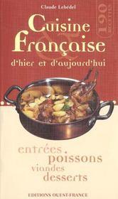Cuisine Francaise D'Hier Et D'Aujourd'Hui - Intérieur - Format classique