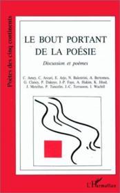 Le Bout Portant De La Poesie - Couverture - Format classique