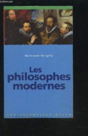 Philosophes Modernes - Couverture - Format classique