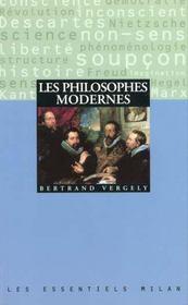 Philosophes Modernes - Intérieur - Format classique