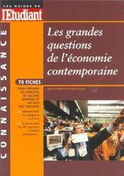 Les Grandes Questions De L'Economie Contemporaine ; Edition 2001 - Intérieur - Format classique