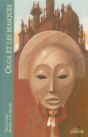 Olga et les masques - Intérieur - Format classique