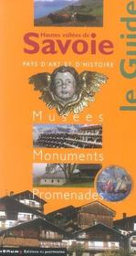 Hautes Vallees De Savoie Le Guide - Intérieur - Format classique