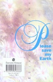 Please save my earth t.1 - 4ème de couverture - Format classique