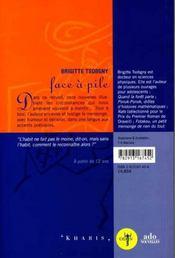 Face A Pile - 4ème de couverture - Format classique