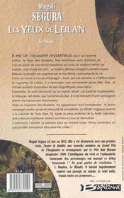 Leilan T.1 ; Les Yeux De Leilan - 4ème de couverture - Format classique