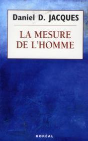 La mesure de l'homme - Couverture - Format classique