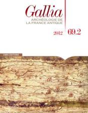 Revue Gallia N.69 ; T.2 - Couverture - Format classique