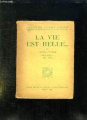 La Vie Est Belle. - Couverture - Format classique