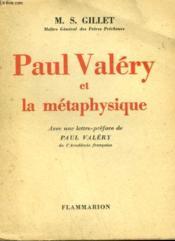 Paul Valery Et La Metaphysique. - Couverture - Format classique