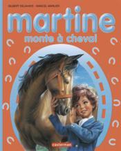 Martine monte à cheval - Couverture - Format classique