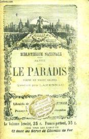 Le Paradis Poeme En Xxxiii Chants. - Couverture - Format classique