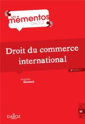 Vente  Droit du commerce international (5e édition)  - Hugues Kenfack