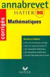 Annabrevet 98 Mathematiques