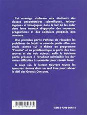 L'Amitie Programme 2001-2003 Prepas Scientifiques Aristote Gide Beckett - 4ème de couverture - Format classique