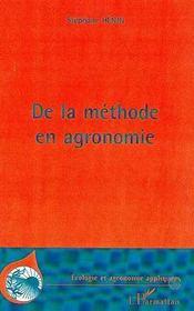 De La Methode En Agronomie - Intérieur - Format classique