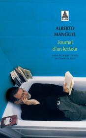 Journal D'Un Lecteur - Couverture - Format classique
