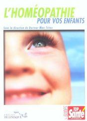 Homeopathie Pour Vos Enfants - Intérieur - Format classique