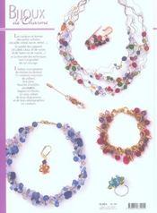 Charme et techniques des bijoux en perles - 4ème de couverture - Format classique
