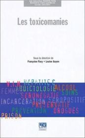 Les toxicomanies - Couverture - Format classique