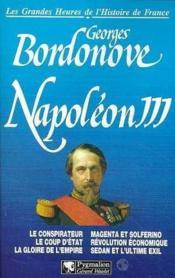 Napoléon III - Couverture - Format classique