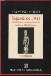 Sagesse De L'Art. - Couverture - Format classique