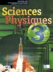Sciences Physiques Arex 3e (Cote D'Ivoire) - Couverture - Format classique