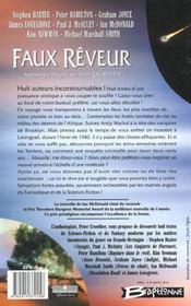 Faux Reveur - 4ème de couverture - Format classique