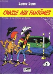 Lucky Luke, tome 37 : Chasse aux fantômes - Couverture - Format classique