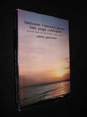 Histoire Chronologique Des Pays - Couverture - Format classique