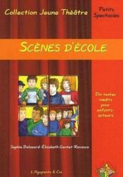 Scènes d'école - Couverture - Format classique