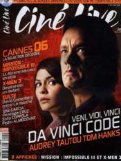 Cine Live - N° 101 - Da Vinvi Code - Couverture - Format classique