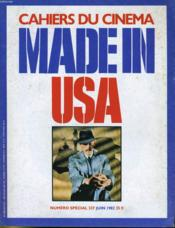 Cahiers Du Cinema Made In Usa N° 337 - Michael Cimino - Win Wenders - Notes Dur L'Espace Americain - John Landis Interviewe Jack Arnold... - Couverture - Format classique