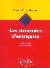 Les Structures D'Entreprise - Intérieur - Format classique