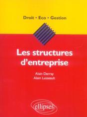 Les Structures D'Entreprise - Couverture - Format classique