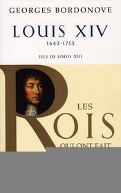 Louis XIV ; 1643-1715 ; fils de Louis XIII - Intérieur - Format classique