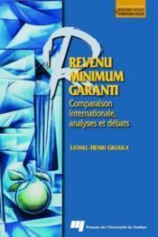 Revenu minimum garanti ; comparaison internationale, analyses et débats - Couverture - Format classique