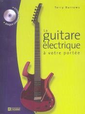 La guitare électrique à votre portée - Intérieur - Format classique