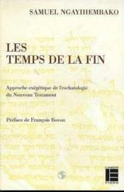 Temps Les De La Fin - Couverture - Format classique
