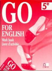 Go For English 5e / Livret D'Activites (Afrique Centrale) - Couverture - Format classique