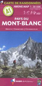 Pays Du Mont-Blanc 1/50.000 - Couverture - Format classique